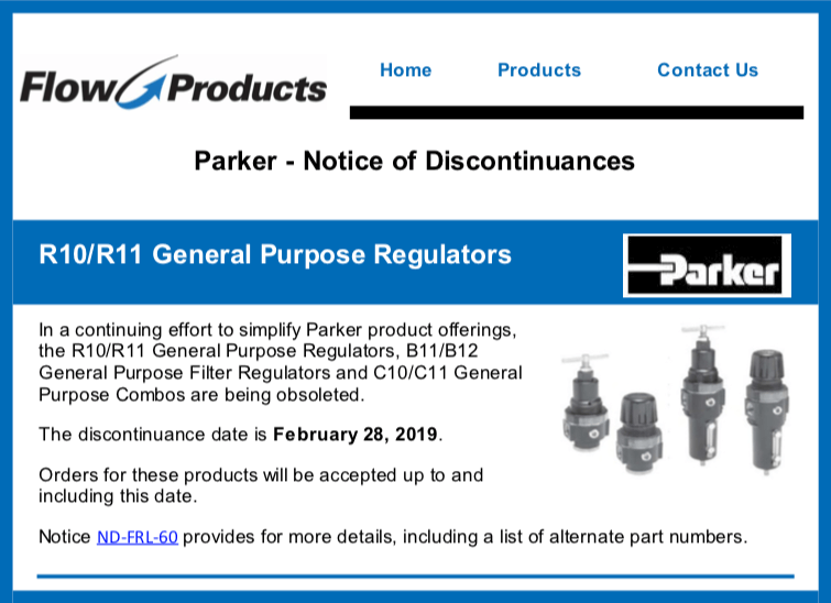 R10/R11 General Purpose Regulators