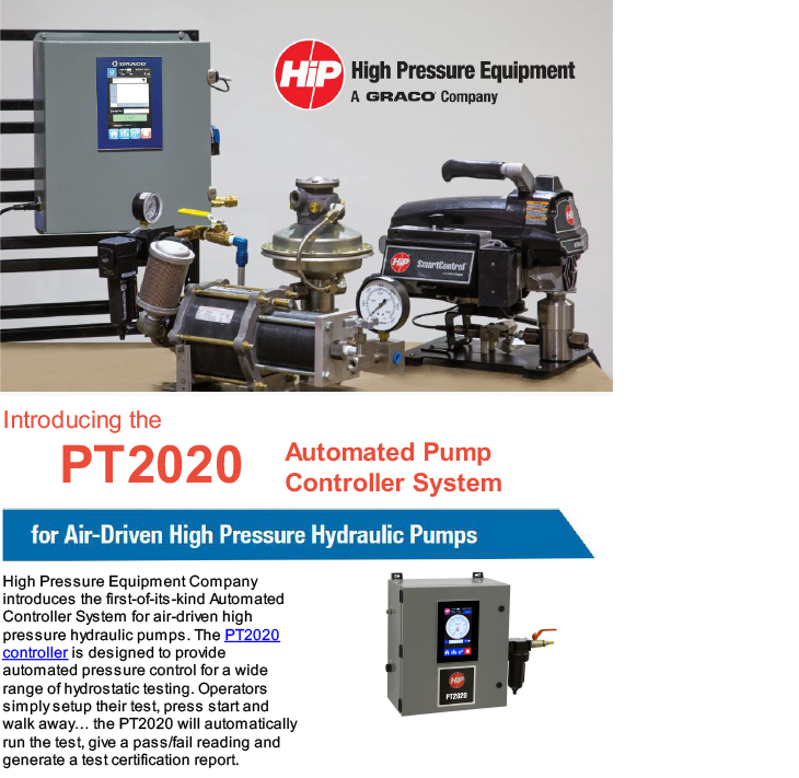 Introducing the PT2020 Automated Pump Controller System